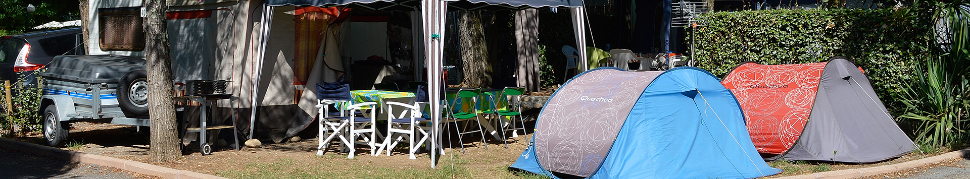Emplacements - Camping Le Grillou
