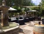 Terrasse restaurant Camping Le Grillou